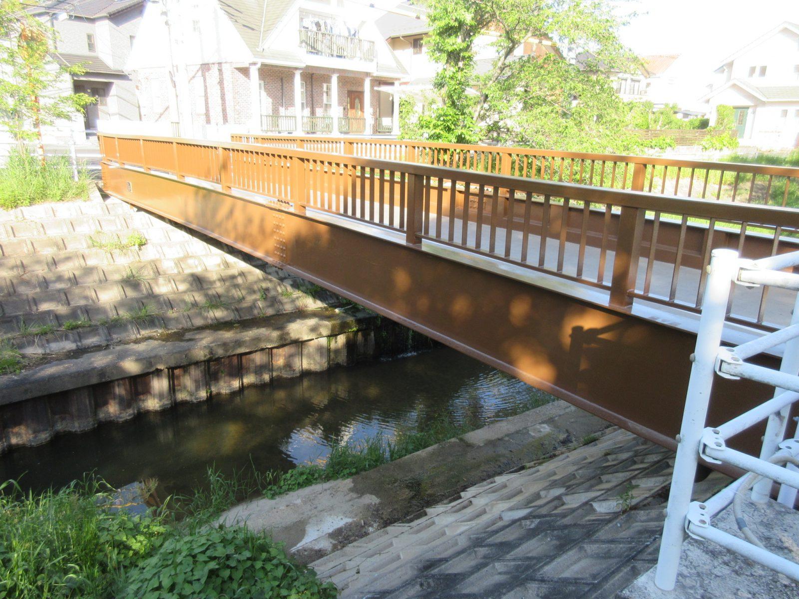 歩道橋設計(悠彩橋)